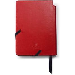 ATX Basalt Black Ballpoint Pen with Medium Crimson Journal