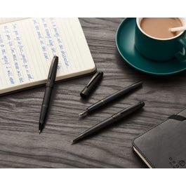 Bailey Matte Black Lacquer Fountain Pen