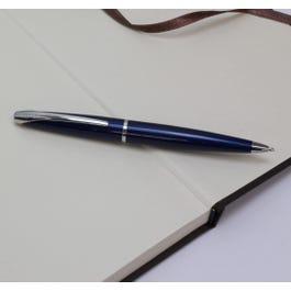 ATX Stylo Bille laque bleu translucide