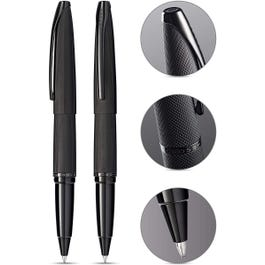 ATX Brushed Black Rollerball Pen