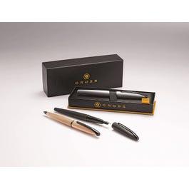 ATX Brushed Rose Gold Fountain Pen