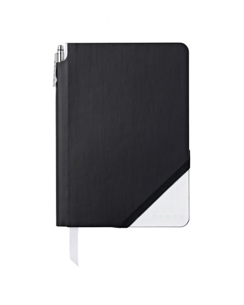 Black & White Medium Jotzone with Pen - Blank Paper