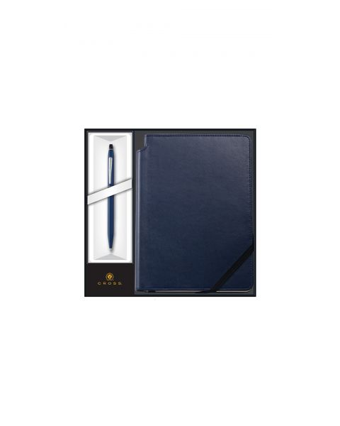 Bolígrafo Click Midnight Blue con Set de Regalo Midnight Blue Journal
