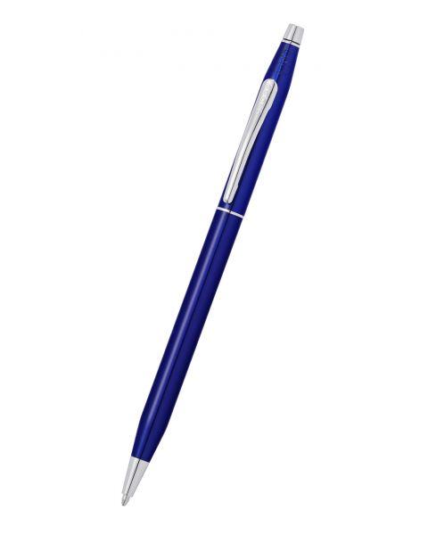 Century Classic Stylo Bille Laque Bleu Translucide