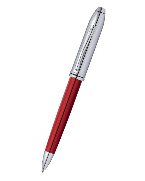 Townsend Red and Chrome Ballpoint Pen