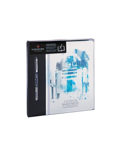 The Sheaffer Star Wars™ R2-D2™ Pop and Journal Gift Set