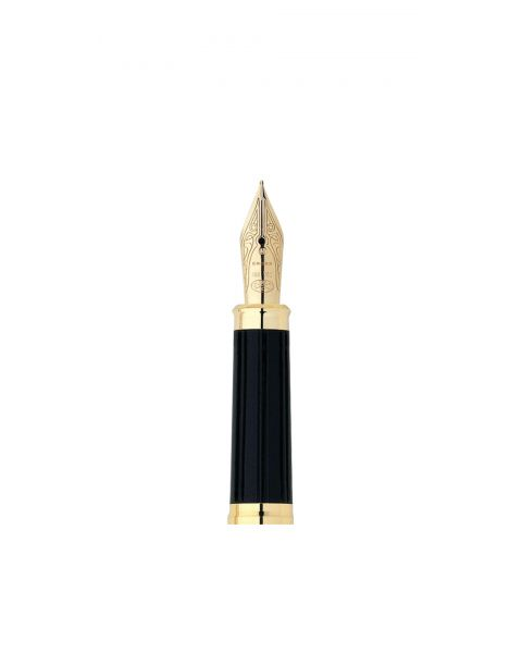 Century II 18 Karat Gold Medium Nib with 23 Karat Gold Plated Nib Ring