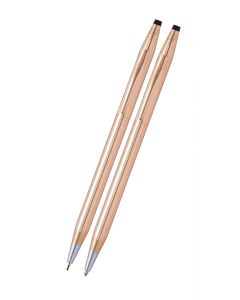 Classic Century 14KT Gold Filled/Rolled Gold Pen and Pencil Set