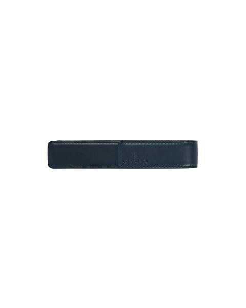 Black Leather Single Pen Pouch