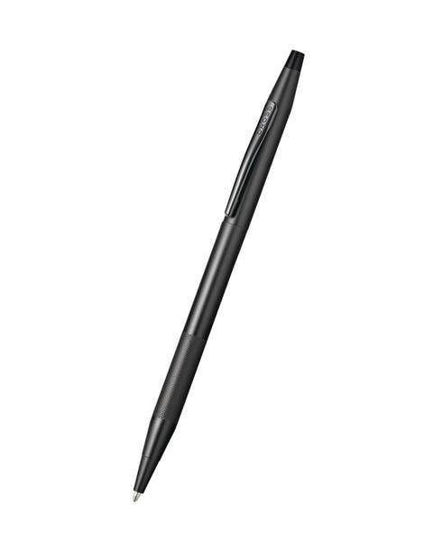Bolígrafo Century Classic Century de PVD gris titanio con detalle de micro-nudos.